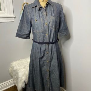 LAUREN RALPH LAUREN DENIM DRESS